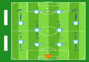 Alphabetic Soccer Drills could match any soccer formation