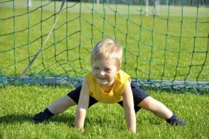 Funny Soccer Goalkeeper