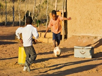 My Childhood soccer story from the village