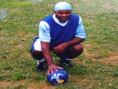 Valentin Bikibili as a young soccer player