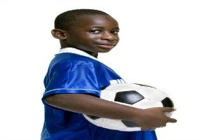 Young Soccer Player Promote Yourself